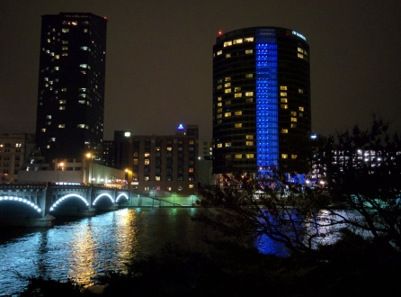 Grand Rapids at night 76th Annual Midwest Fish and Wildlife Conference (MWFWC)