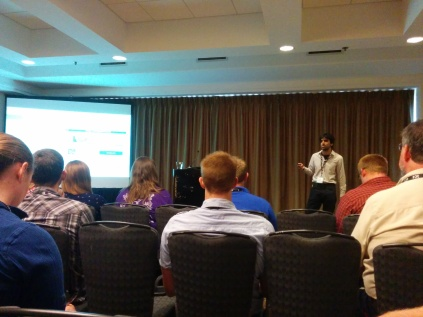Presentation Time! 146th Annual Meeting of the American Fisheries Society